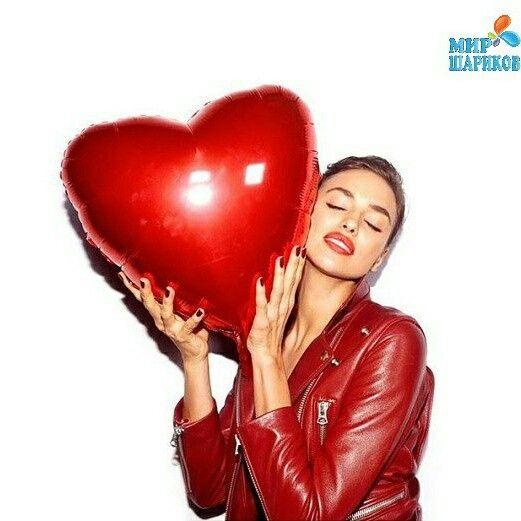 Красные фольгированные сердца - лучший подарок девушке! И кто же не любит такую прелесть как воздушные шары)!!! http://sharik.kiev.ua/kupit_sharyi.html