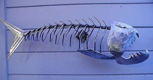 Skeletal Fish | sactoslacker | Flickr