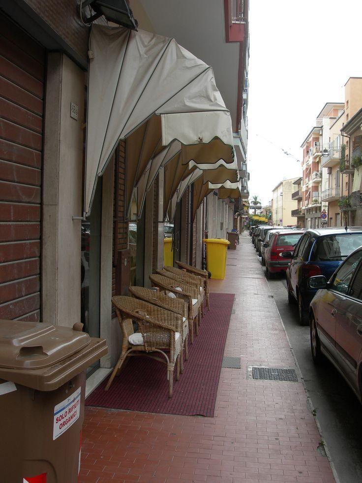 Porto San Giorgio, Caffè Effetto, luglio 2015.