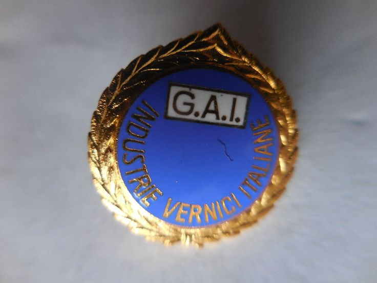 distintivo GAI industrie vernici itlaiane