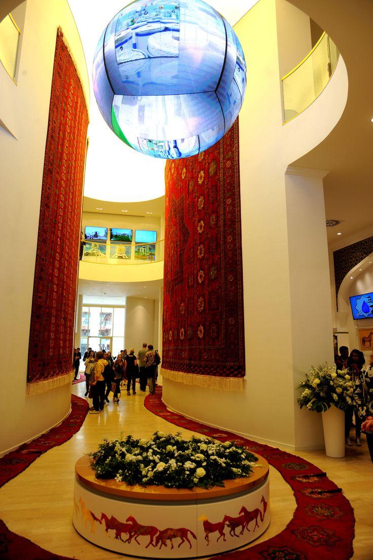 #Turkmenistan #Pavilion #Expo2015 #Milan