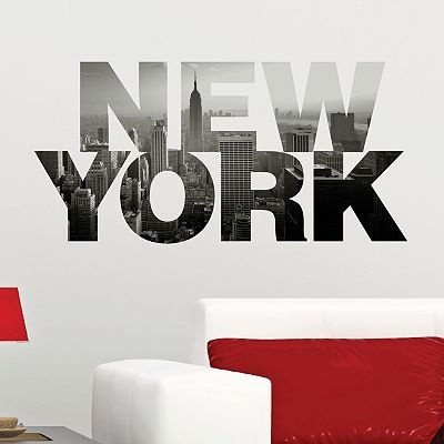 Dcwv Quot New York Quot Wall Sticker Home By Dcwv Pinterest