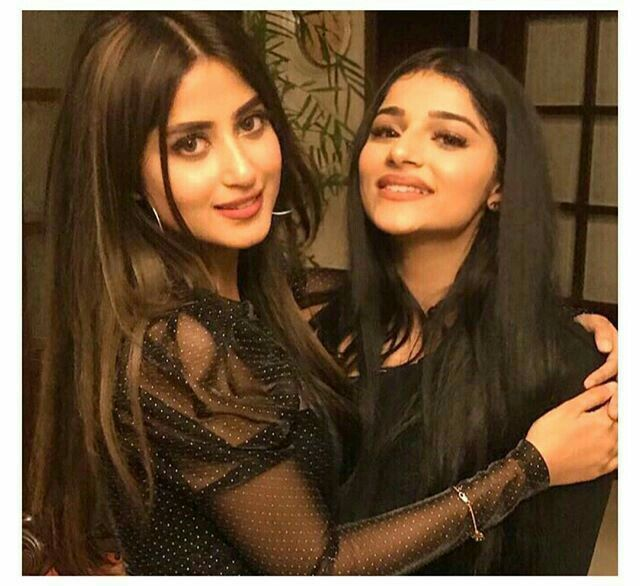 Pin By Fatima Rubas On Celebraties Girl Friendship Sajal Ali Girl Photo Poses