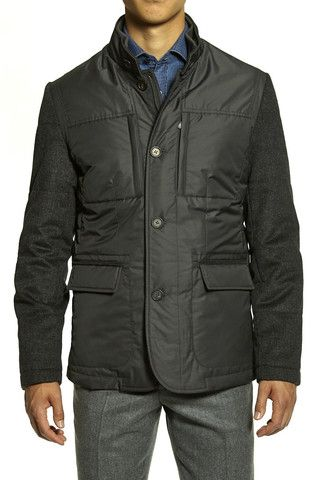 Corneliani Men's ID Outerwear Jacket | The Helm Clothing | Edmonton, AB