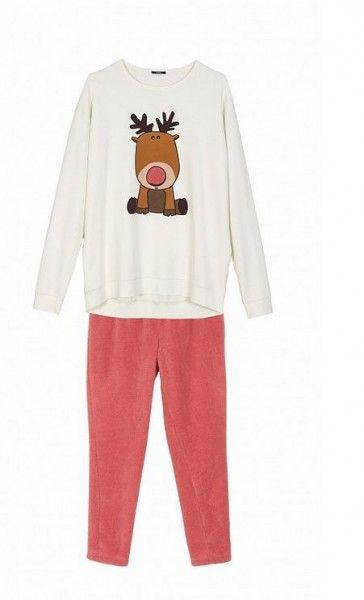 pigiami-donna-tezenis-inverno-2014-renna