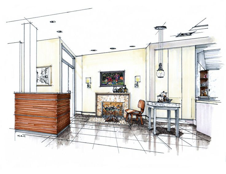 Showroom Concept In Middle East Interior SketchArchitectural
