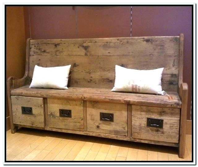 Best Of Wooden Storage Bench Seat Indoors Arts Awesome Wooden
