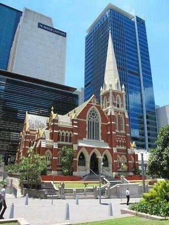 Uniting Church, Albert Street, King George Square, Brisbane