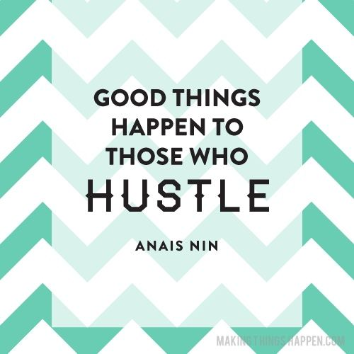 Let's do the Hustle!!