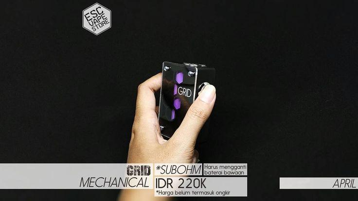 Harga : Rp. 220.000- (belum termasuk ongkir)  Spesifikasi: Box ABS Plastik  Cover Akrilik (Sistem Skrup) Switch Stainless Steel (tanpa mosfet) Konektor 510 22mm (pin pake per/spring loaded) Resistance 0.8ohm-1.0ohm (Bukan untuk SubOhm kecuali ganti baterai) Slot Cas Micro USB (Bisa menggunakan charger standar BB/ hape Android dengan micro USB) Indikator LED (Merah = sedang di cas Biru = baterai penuh) BONUS Baterai 1 pcs 18650 2200mAh 37v 10A (merk sesuai stok) Ukuran 7.7cm x 5.1cm x 2.7cm…