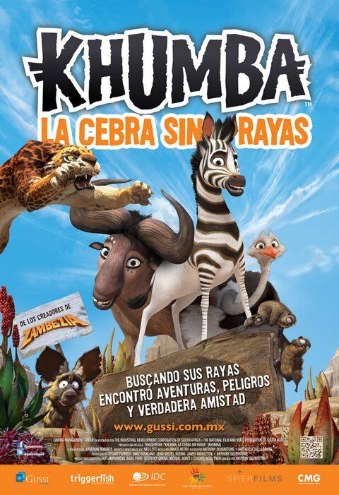 Khumba Released in MEXICO today!!!