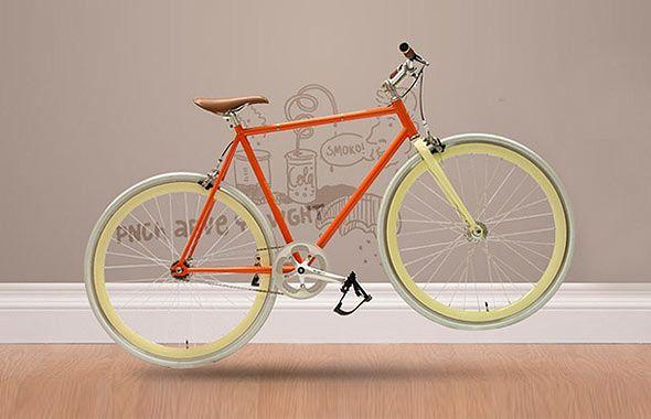 single speed bike orange - Google Search