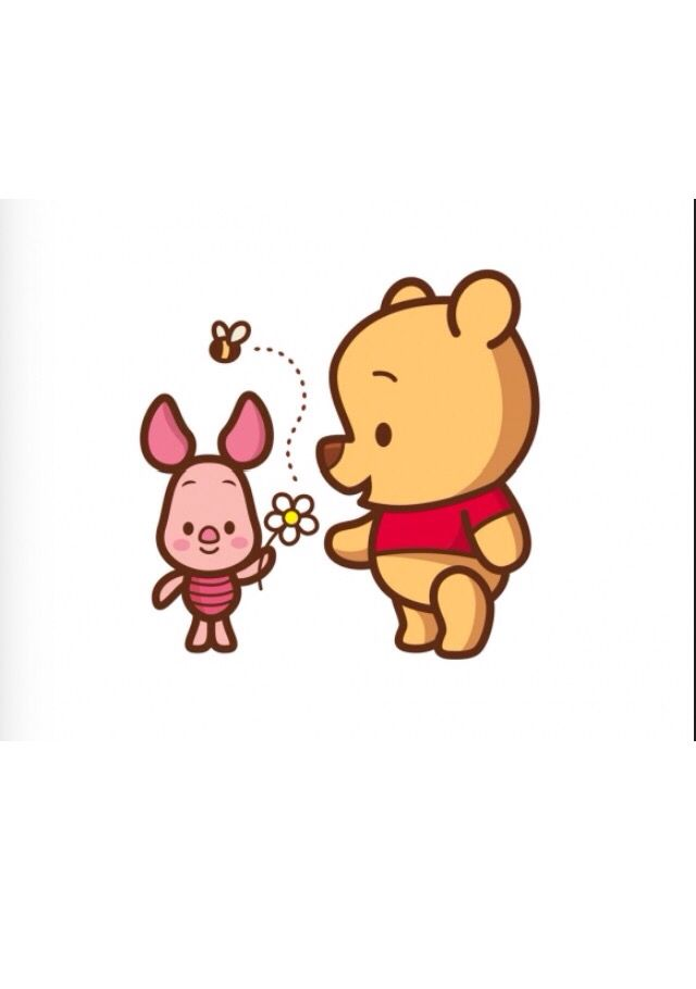 Cute me and my bff are like Winnie the Pooh and Piglet ...
