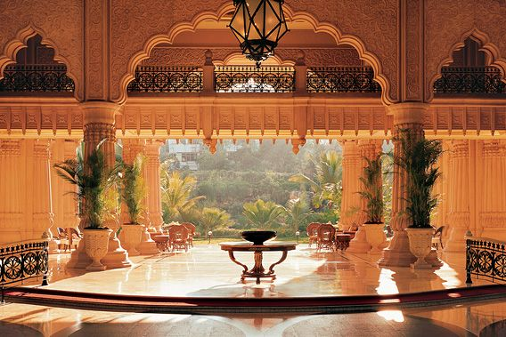 Leela Palace in Bangalore