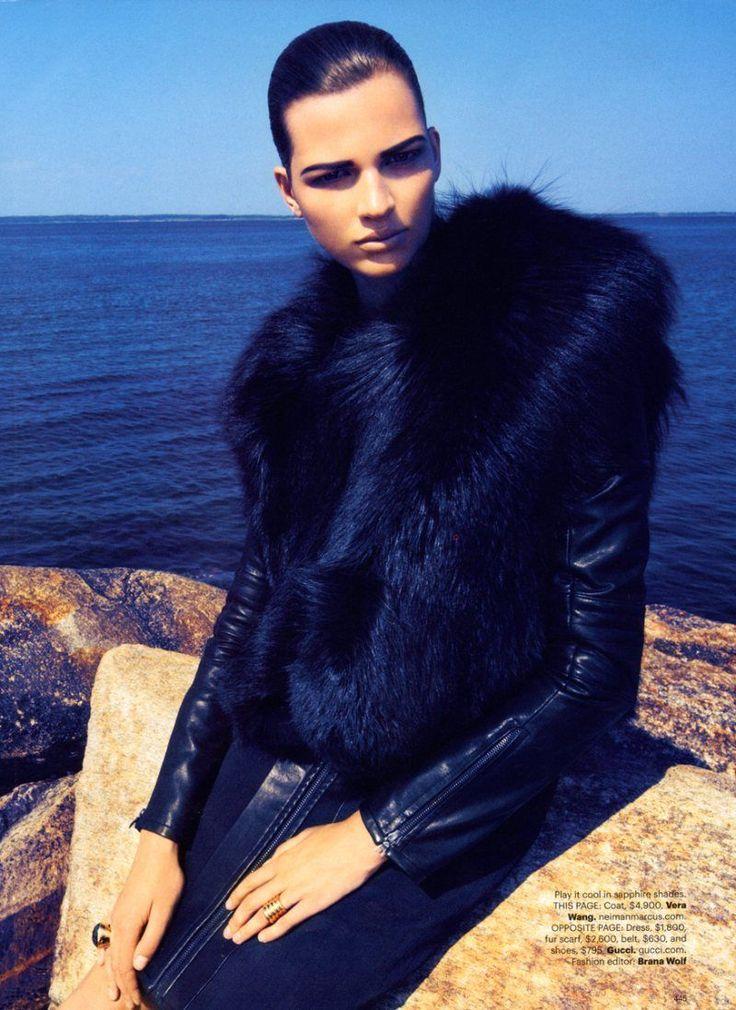Bette Franke for Harper's Bazaar US by Camilla Akrans