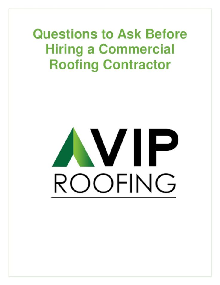 Questions to Ask Before Hiring a Commercial Roofing Contractor
