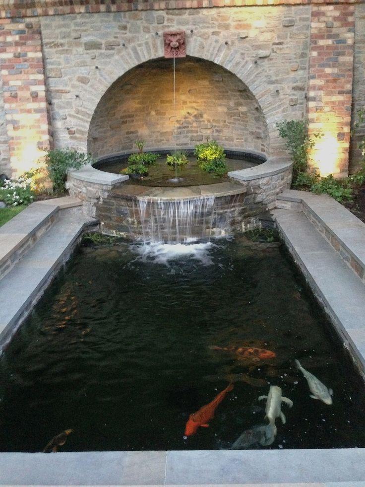 Landscape Architecture By Kaiser Trabue Ponds Backyard