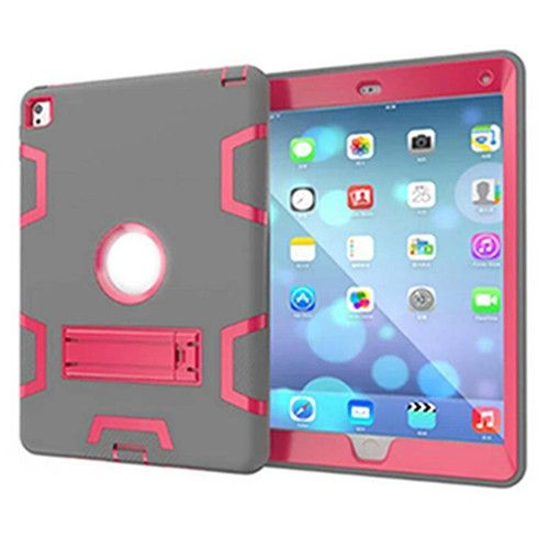 Kids Safe Armor Drop Shock Proof Heavy Duty Silicone TPU + PC Hard Case For iPad Pro 9.7 Inch For Ipad air 2 + Free Stylus
