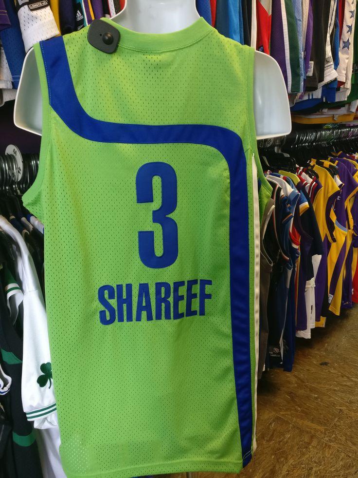 Vintage #3 SHAREEF ABDUR-RAHIM Atlanta Hawks NBA Nike Jersey L
