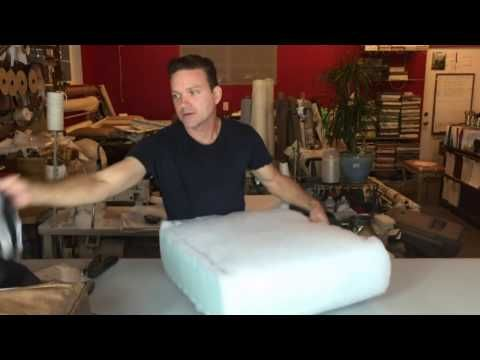 Replace the foam in your seat cushions fast and easy! - YouTube - They give a really good explanation of foam density!