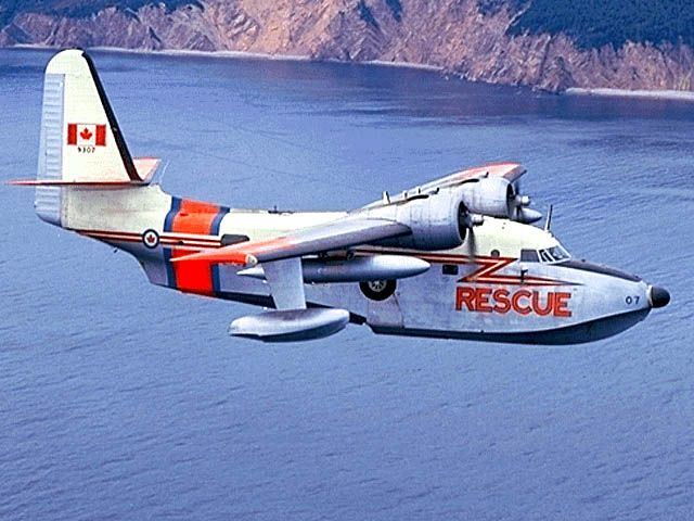SAR Grumman Albatross... ahh, in her Canadian colors and decals,  as a young aircraft mechanic this was my first airplane to work on.1967