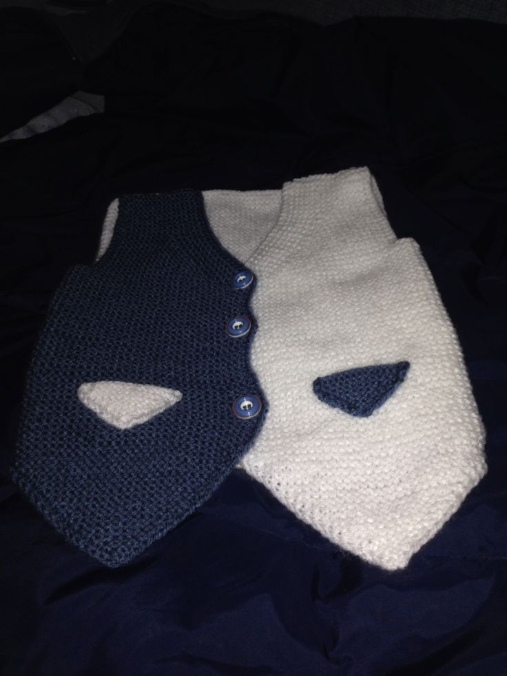 Baby vest hand made
