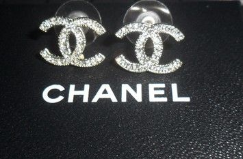 Chanel Earrings CC Logo Crystal Silver Authentic Classic 10A Swarovski. Get the lowest price on Chanel Earrings CC Logo Crystal Silver Authentic Classic 10A Swarovski and other fabulous designer clothing and accessories! Shop Tradesy now