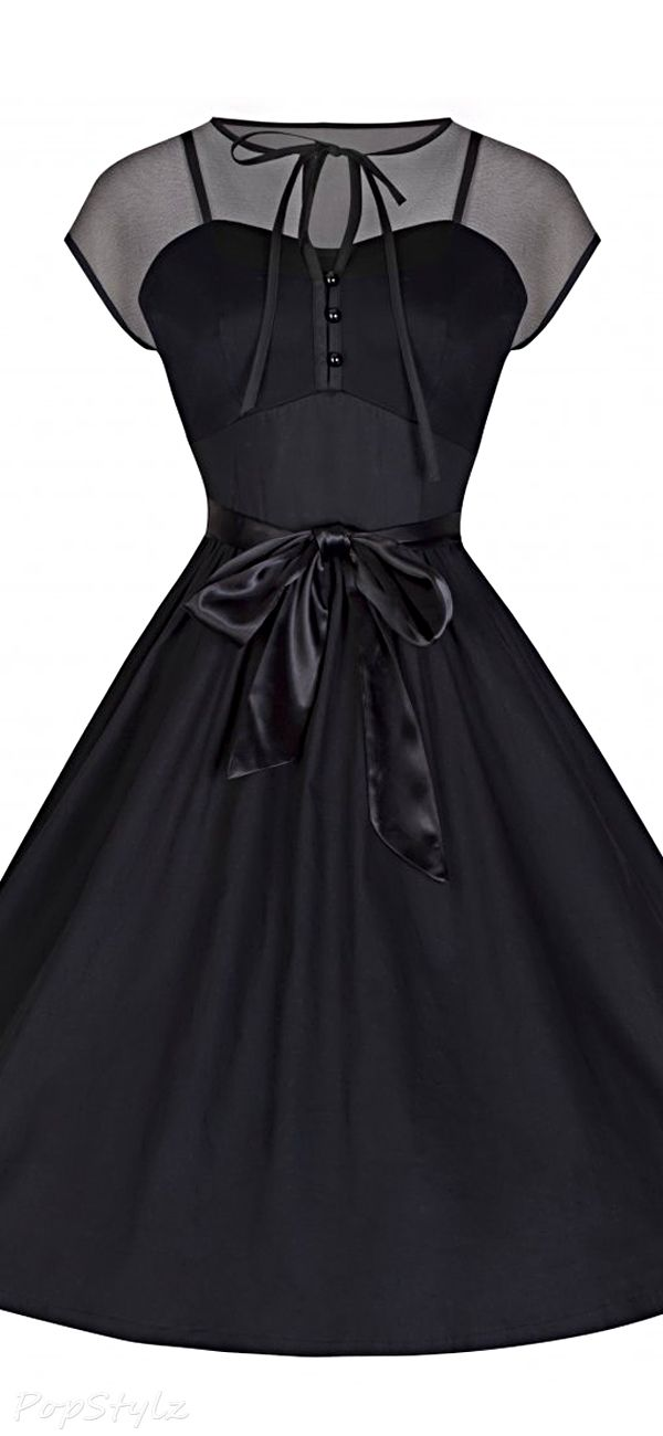 Lindy Bop 'Tina' Vintage 1950's Inspired Sultry Swing Dress