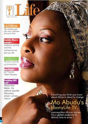 Magazine Covers - Mo Abudu on Guardian's Life