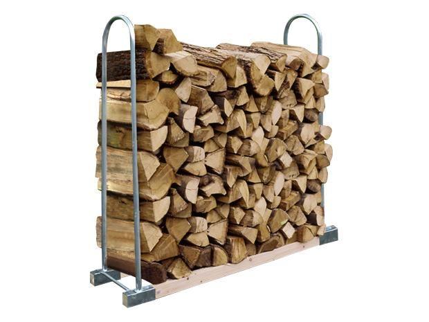 Stabilit Holzstapelhalter Haus Garten
