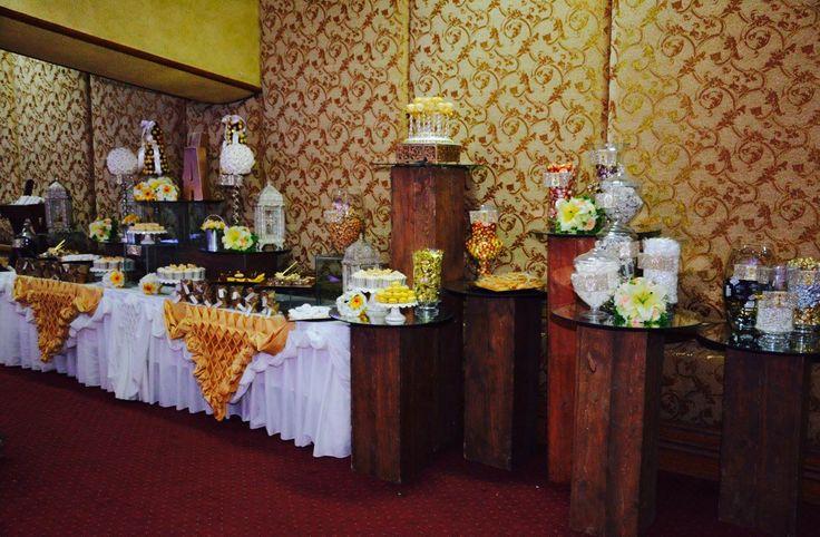 10 best 50th wedding anniversary candy dessert buffet by melita