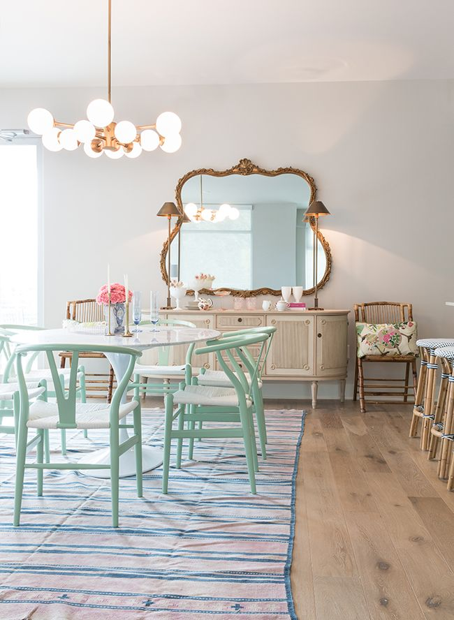 How to Mix & Match Colors and Patterns at Home | Comedores