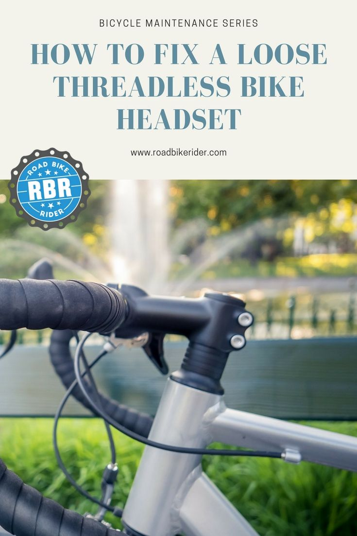 How To Fix A Loose Threadless Bicycle Headset Cycling For