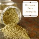 Tip Tuesday: Homemade Ranch Dressing Mix - Crock-Pot Ladies
