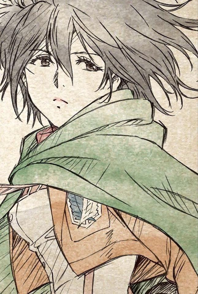 Mikasa Ackerman<<< Shingeki no Kyojin