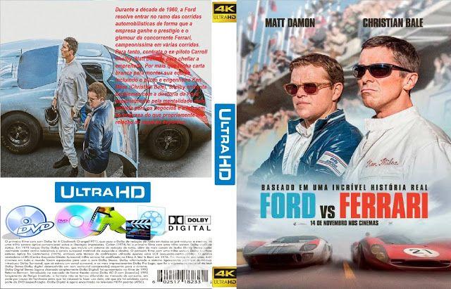 Trailer Capa Dvd Filme Ford Vs Ferrari 2019 Capas Dvd Dvd Ford