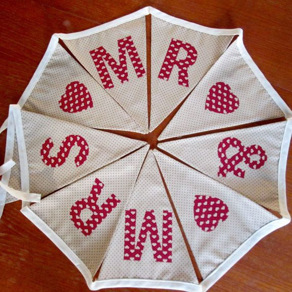 Bespoke Handmade Fabric Bunting  Made to by LittleBuntingBasket
