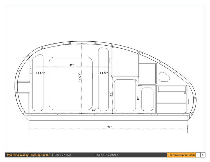 Wyoming Woody Teardrop Plans | Teardrop Builder
