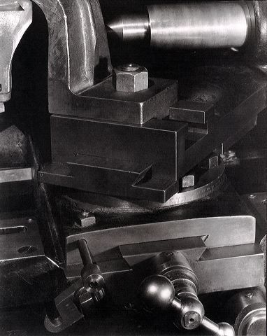 "Paul Strand, ""Lathe No. 3,"" 1923."