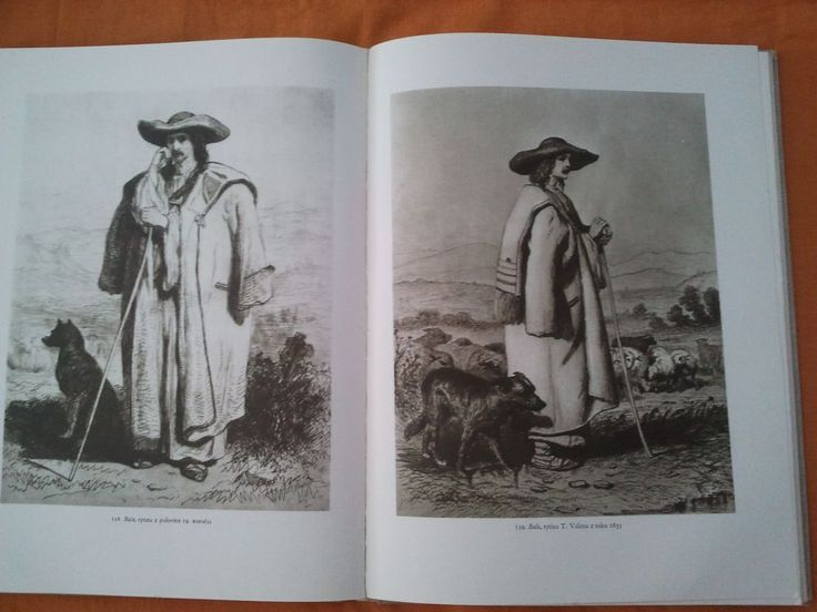 The Slovak bača - elder shepherd, 19th century.