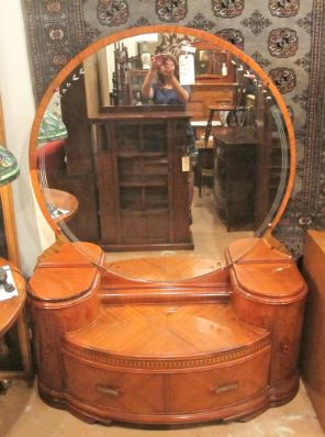 Art Deco Waterfall Vanity
