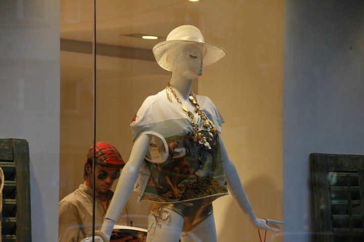 Spring/Summer '11 ThanatoTurism - Window Display for The Place Concept Store; styling by Răzvan Firea & 109