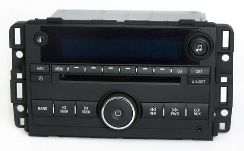2009-2010 Chevrolet Impala AM FM Radio mp3 CD Player Aux Input 20914861 Unlocked