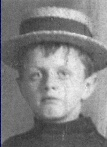 Master William 'Willie' Loch Coutts, 9, was born in London on 16 October 1902, the son of William and Winnie Trainer Coutts. He boarded the Titanic at Southampton as a third class passenger with his mother and younger brother Neville. The family were on their way to Brookyln, New York to join Willie's father, William Coutts. They survived, in lifeboat 2.