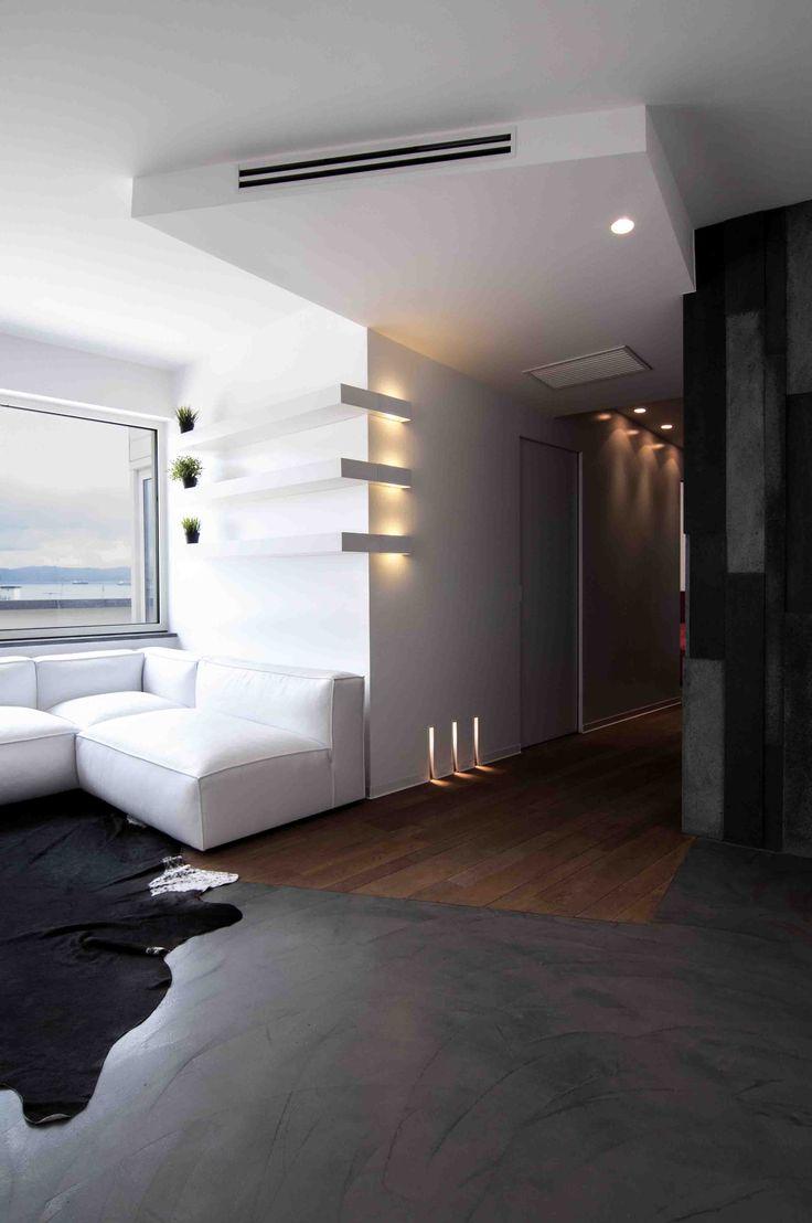 Illuminazione interni #doriarchitetti #vetro #infisso #bianco #luce #light #lucifero's
