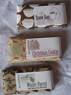#holiday #gift #soap #packaging