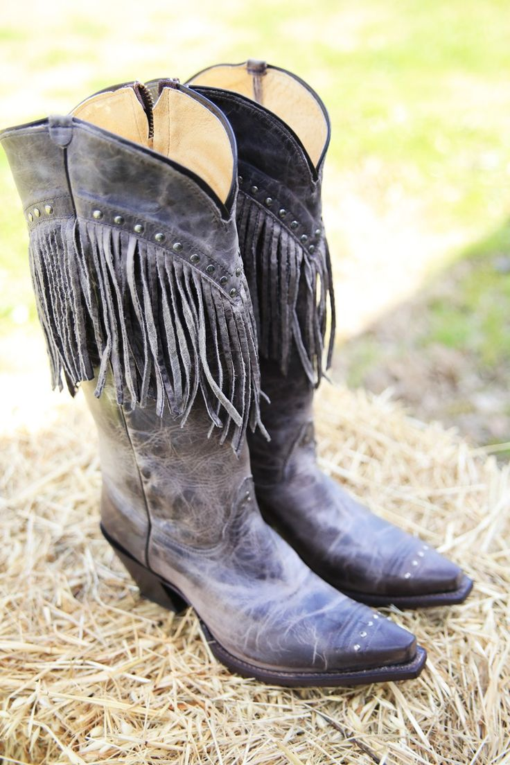 the Tanya FRINGE BOOTS - Junk GYpSy co.