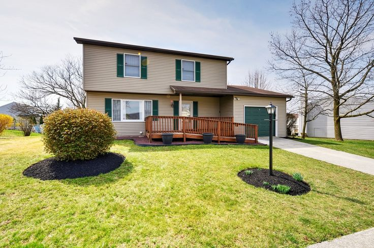 LOWER PAXTON TWP ~ 5564 Banbridge Dr, Harrisburg ~ Well-maintained 4BR home w/2-zone heat/central air, fresh paint! Kitchen/dining rm w/new vinyl plank flooring/newer appliances. Formal living rm & den w/new carpeting. Updated full baths; updated powder room. All bdrms generous in size. 10x24 screened porch overlooks private wooded rear yard. 1 car garage, 1 yr home warranty. Ramp to front porch is being removed & sidewalk installed. Call Sherri Anderson, REMAX 1st Advantage, 591-5555…