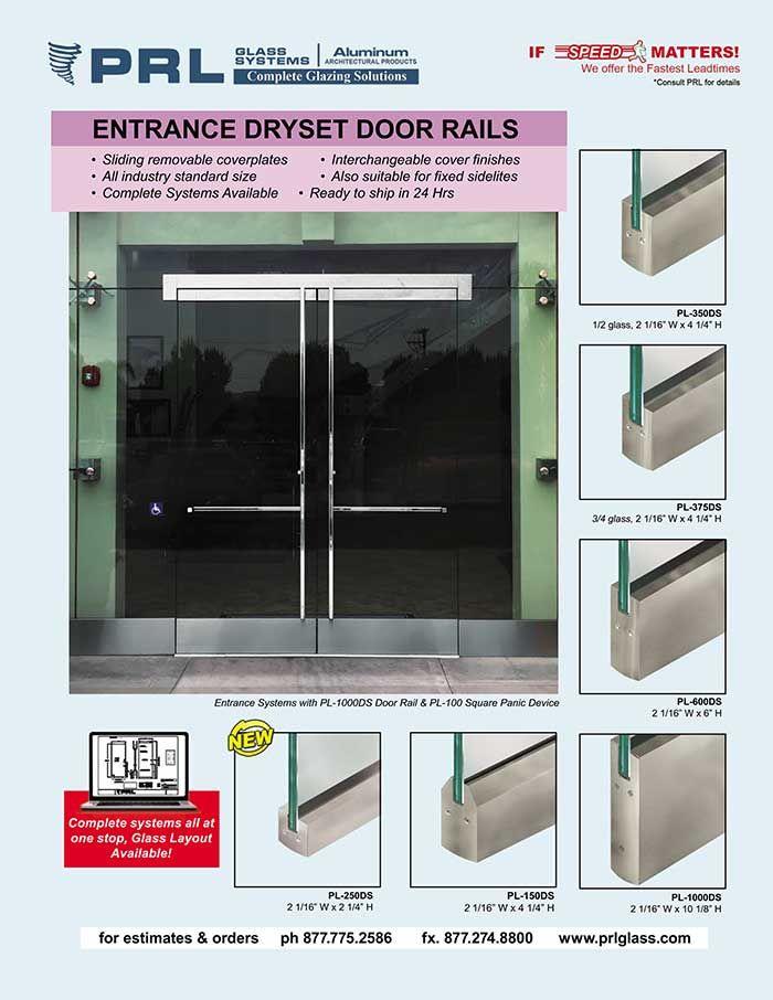 Make All Glass Door Installation A Breeze With Our Rapid Dryset Door Rails In 2020 Door Installation Glass Door Entry Doors With Glass