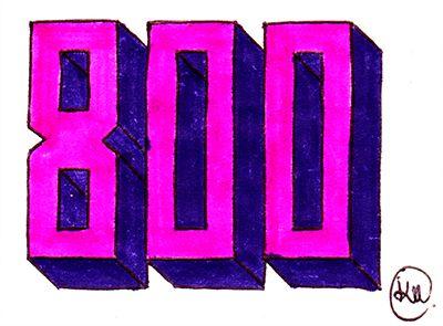 Katerina Pappou: 800!